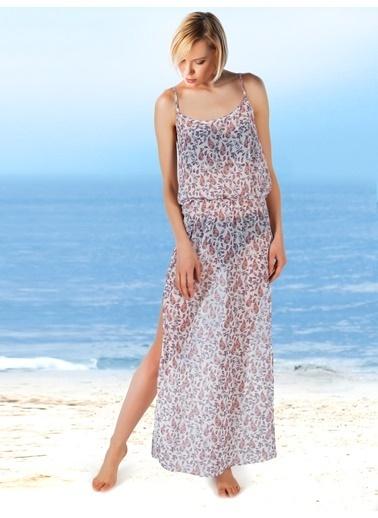 Miorre Plaj Elbisesi Beyaz